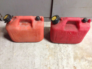 2 Gasoline Cans