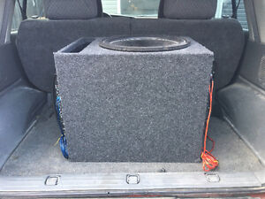 15 inch Pyle power subwoofer