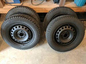 Winter tires and rims - 195/65/r15
