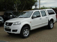 2012 GREAT WALL STEED S TD Double Cab 4X4 2.0 Diesel NO VAT