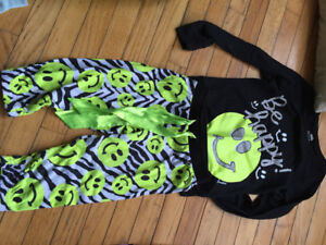 Girls Justice PJ's size 6/7. $1