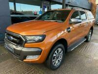 2017 Ford Ranger 3.2 WILDTRAK 4X4 DCB TDCI 4d 200 BHP PICK UP Diesel Automatic