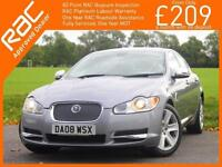 2008 Jaguar XF 2.7D V6 Turbo Diesel Premium Luxury 6 Speed Auto Sat Nav Bluetoot