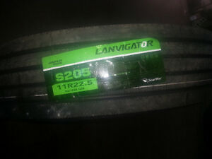 NEW 11R22.5 TRAILER TIRES