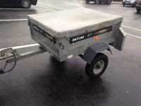 DAXARA 107 GALVANISED CAMPING TIPPING TRAILER