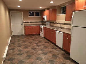 Huge Three bedroom basement suite for rent with two full bath