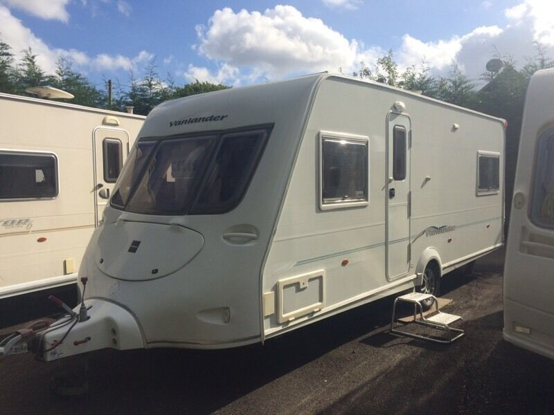 Fleetwood vanlander 4 berth