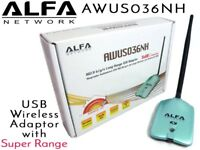 ALFA AWUS036NH - Wireless b/g/n USB Adaptor with insane range and signal quality
