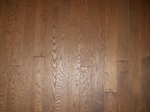 New Oak Flooring - Wired Brushed Pre-Finished