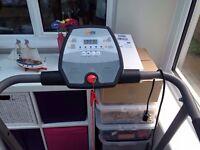 V-Fit Start Folding Motorised Treadmill