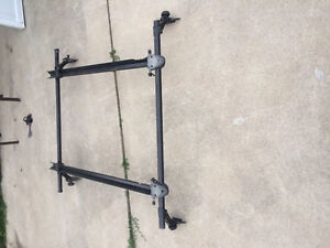 Thule Square Bar Roof Rack (With Two Bicycle Troughs) London Ontario image 9