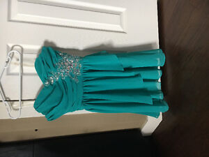 Grad dress used for grade 8 grad