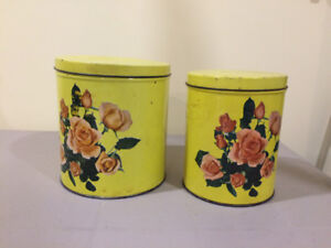 Canister set from the early 50's