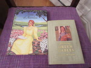 2 Lovely Hardcover Books about Anne of Green Gables