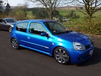 Renault Sport Clio 182 ( Similar to Civic Type R , Golf Gti , Leon FR, Astra VXR)