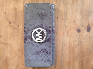 Authentic Michael Kors leather snake skin wallet
