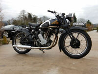 NEW IMPERIAL 76 DL 1937 500cc Original, Transferrable registration number