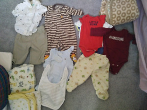 3 months baby boy winter clothing lot over 15 items