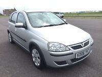 VAUXHALL CORSA 1.2 SXI 5 DOOR PERFECT FIRST CAR BARGAIN WITH LOW MILEAGE