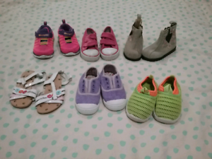 Bag of Girls Shoes - Size 5 (6 x pairs) Maryborough Fraser Coast Preview