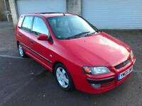 2005 Mitsubishi Space Star 1.6 auto Equippe 5 Door Automatic Bright Red