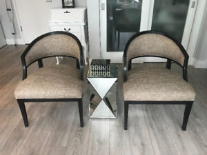 Mid Century modern occasional chairs