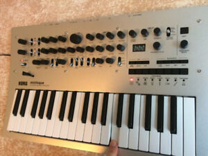 Korg Minilogue Polyphonic Analog Synthesizer synth w/ Case