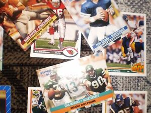 FOOTBALL CARDS FROM 90'S approx. 40 cards $20 Prince George British Columbia image 7