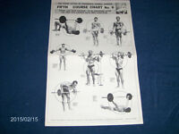 WEIDER 5TH COURSE CHART NO. 6-STRONGMEN-POOL-SIPES-LABRA+