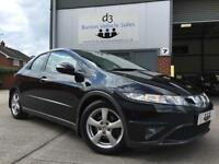 2009/59 Honda Civic 1.8 i VTEC SE Hatchback 5dr Petrol Manual Black FACE LIFT