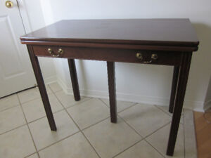 Reduced - Antique Dining Table That Folds into A Desk