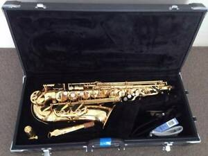 JUPITER - ALTO SAX JS769GL HIGH F SHARP W/CASE & WARRANTY Northbridge Willoughby Area Preview