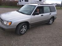 1999 Subaru Forester Crossover Alberta Safety Included!