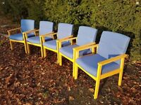 5 designer waiting room reception chairs