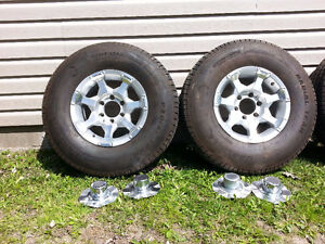 235/85R16 Trailer Tires with 6 x 5.5 Rims