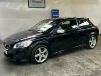 2010 10 VOLVO C30 2.0 R-DESIGN 3D 145 BHP-ONLY 29,000 MILES WITH FSH-