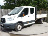 2015 Ford Transit 350 Double Cab Tipper Tipper Diesel Manual