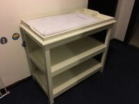White Company Baby changing table