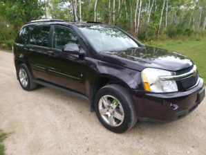 2007 Chevy Equinox LS AWD with one only  107844 KM safetied