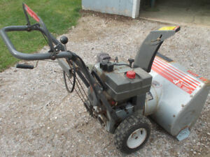 CRAFTSMAN 8/25 2 STAGE SNOWBLOWER