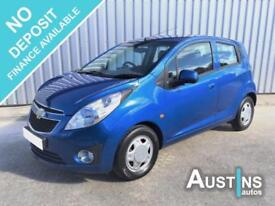 2012 (12) Chevrolet Spark 1.0 Plus 5-Dr, 33,000 Miles, Service History, 3 Owners