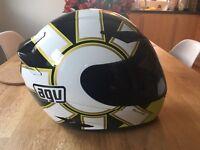 AVG K-3 Rossi Motorcycle Helmet