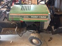 2 in 1 Lawn tractor and snowblower