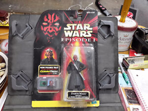 STAR WAR EPISODE 1 HASBRO 1998 DART MAUL  SEALED $100.00