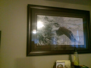 Ron Parker wildlife Eagle or Stephen Lyman A walk in the woods, London Ontario image 1