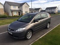 2007 MAZDA 5 TS 2, 1 YEAR MOT, WARRANTY, NOT ZAFIRA GRAND SCENIC TOURAN