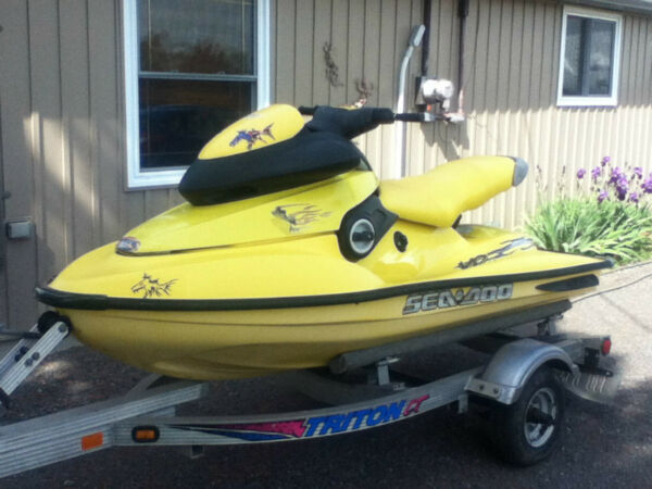 Used 1998 Bombardier sea-doo 800 XP Ltd. Edition