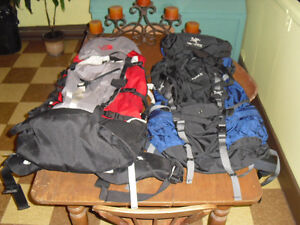 2x Expeditions backpacks His/Hers Northface & Arcteryx 75 liters
