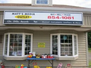 MATT'S MEDIA OUTLET NOW OPEN ON MONDAYS!!