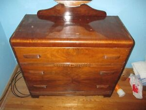 Dresser With Mirror-Must Sell  For Senior London Ontario image 1